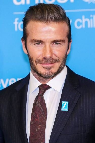 Capelli Biondi: David Beckham Photography by Getty Images